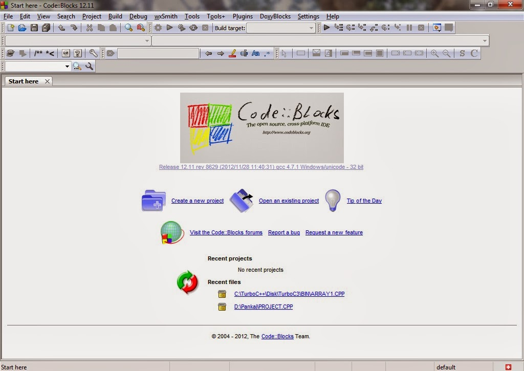 code blocks 12.11 windows 8